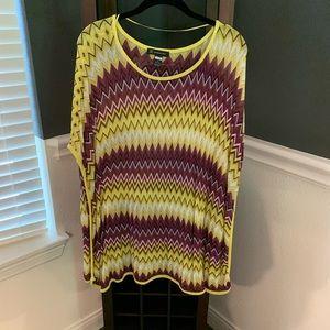 Yellow Poncho Shirt